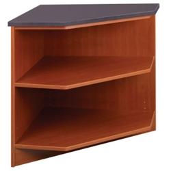 "Library 90 Degree Corner Shelf - 30""H, 31102"