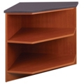 "Library 90 Degree Corner Shelf - 30""H, 31102"