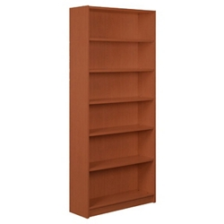 "Six Shelf Bookcase - 84"" H, 32935"