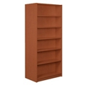 "Six Shelf Double Sided Bookcase - 84"" H, 32940"