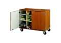 "Doored Twelve Compartment Mobile Storage Cabinet - 36""H, 36852"