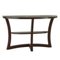 "Half Round Sofa Table - 48""W, 46274"