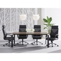 Empire 6.5' Conference Table with Six Highland Chairs, 86517