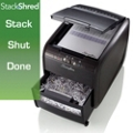 Stacking Cross Cut 4 Gallon Paper Shredder, 87461