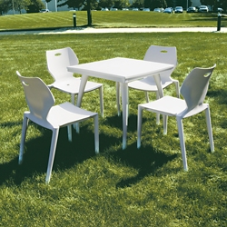 Ion Indoor/Outdoor Table & Four Chairs Set, 44446