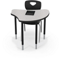"Configurable Student Desk - 33""W, 14876"