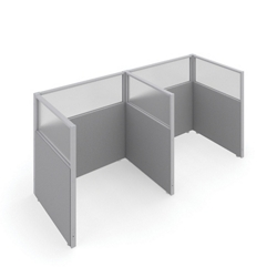 "47""H Panels Only 1x2 Privacy Stations 48""x37"" Each, 22543"