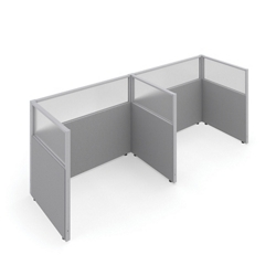 "47""H Panels Only 1x2 Privacy Stations 60""x37"" Each, 22544"