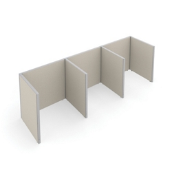 "47""H Panels Only 1x3 Privacy Station 48""x37"" Each, 22546"