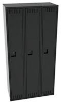Anti-Microbial Single Tier Lockers (Set of Three), 31924