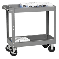 "Two Tray Utility Cart - 16""W x 30""D, 31868"