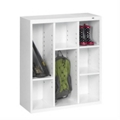 "40""H Steel Cubby Cabinet, 31872"