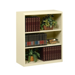 "42""H Three Shelf Metal Bookcase, 32909"