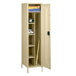 "Antimicrobial Combination Locker with Legs - 24""W, 31928"