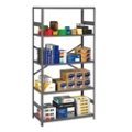"Open Steel Shelving Unit - 36""W x 18""D x 75""H, 36428"