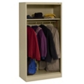 "Open Style Wardrobe Cabinet - 72""H, 36437"