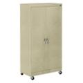 "Mobile Six Shelf Storage Cabinet - 72.75""H, 36448"