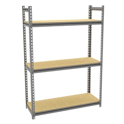 "Four Shelf Storage Rack - 42""W x15 ""D, 36652"