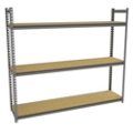 "Four Shelf Storage Rack - 69""W x 15""D, 36654"