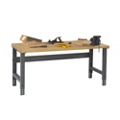 "Wood Top Workbench - 60"" x 36"", 41557"