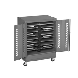 "Mobile 16 Slot Charging Station- 49""H, 60957"