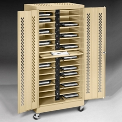 "Mobile 32 Slot Charging Station- 79""H, 60959"
