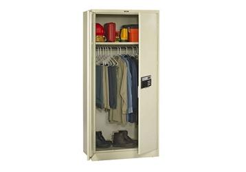 "Keypad Lock Wardrobe Cabinet - 78"" H, 36771"