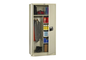 "Keypad Lock Wardrobe and Storage Cabinet - 78"" H, 36773"