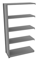 "Shelving Add-On Unit - 42""W x 18""D x 76""H , 37077"