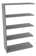 "Shelving Add-On Unit - 48""W x 18""D x 76""H , 37081"