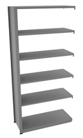 "Shelving Add-On Unit - 42""W x 18""D x 88""H , 37089"