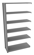 "Shelving Add-On Unit - 48""W x 18""D x 88""H , 37093"