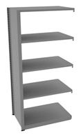 "Shelving Add-On Unit - 36""W x 24""D x 76""H , 37075"