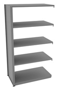 "Shelving Add-On Unit - 42""W x 24""D x 76""H , 37079"