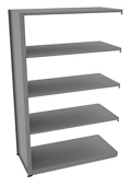 "Shelving Add-On Unit - 48""W x 24""D x 76""H , 37083"