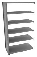"Shelving Add-On Unit - 48""W x 24""D x 88""H , 37095"