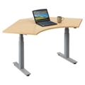"Tabella Adjustable Height Corner Desk -  48""W, 10277"