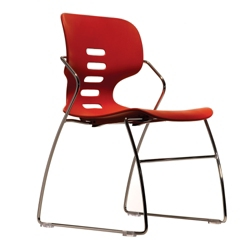 Flex Back Armless Stack Chair, 51486