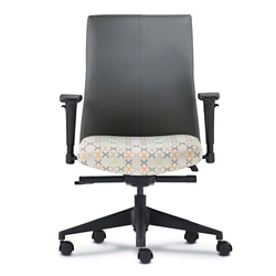 Mid Back Office Chair with Adjustable Arms, 56785