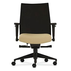 Mid Back Office Chair with Adjustable Arms and Mesh Back, 56791