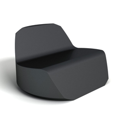 Modern Round Foam Lounge Chair, 76079