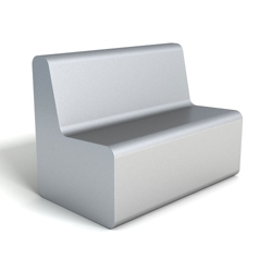 Modern Active Foam Loveseat , 76100