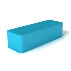 Modern Soft Corner Long Foam Ottoman, 76135