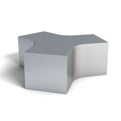 Modern Shape One Foam Bench, 76161