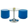 Table and Foam Chair Set, 76469
