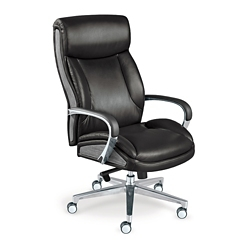 La-Z-Boy Lincoln Leather Big and Tall Executive Chair, 51791