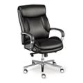 La-Z-Boy Lincoln Faux Leather Mid Back Executive Chair, 51792