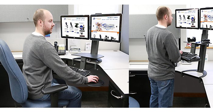 Standing Desks – Simple Desktop Solutions from HealthPostures | NBF Blog