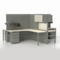 Corben Four Desk Pack with P Legs, 14979