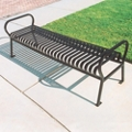 Horizontal Slat Bench - 6 ft, 82406